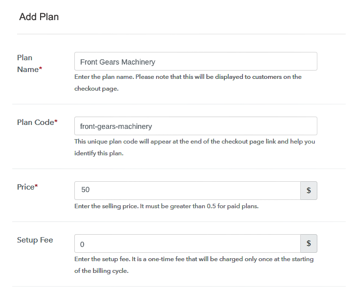 Add Plans to Sell Machinery Online