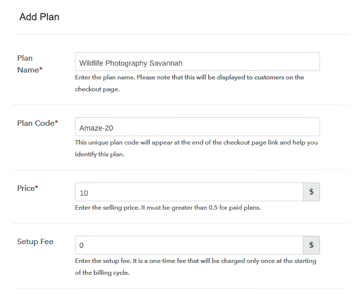 Add Plan to Sell Photographs Online