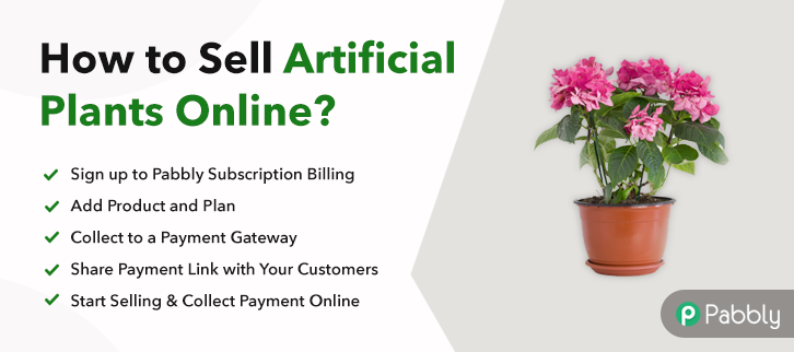 How to Sell Artificial Plants Online
