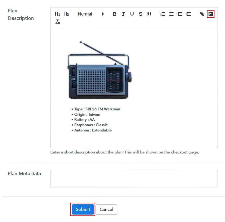 Add Description To Sell Antique Radios Online
