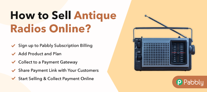How To Sell Antique Radios Online