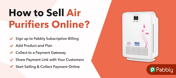 How to Sell Air Purifiers Online