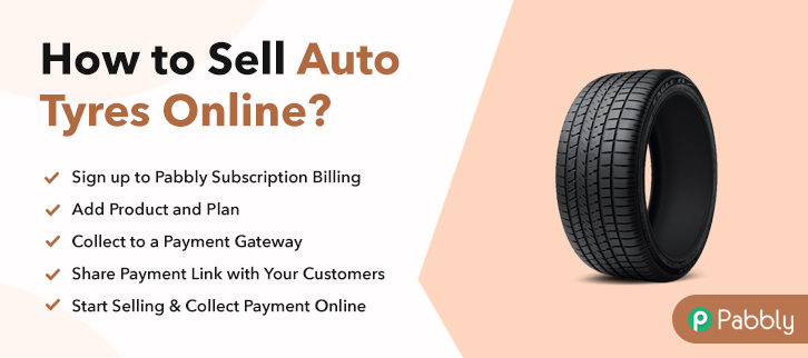 How to Sell Auto Tyres Online