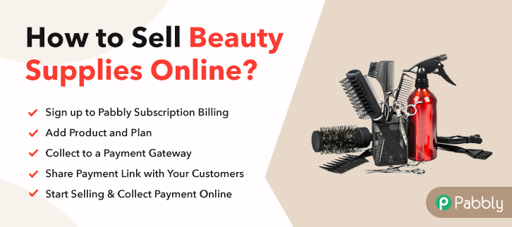 How to Sell Beauty Supplies Online