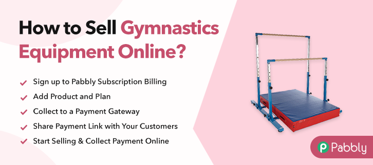How to Sell Gymnastics Equipment Online