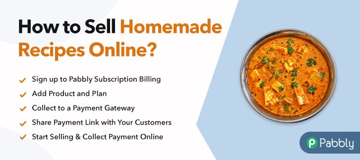 How To Sell Homemade Recipes Online Step By Step Free Method