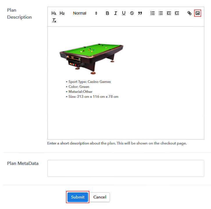 Sell Billiards Online Image