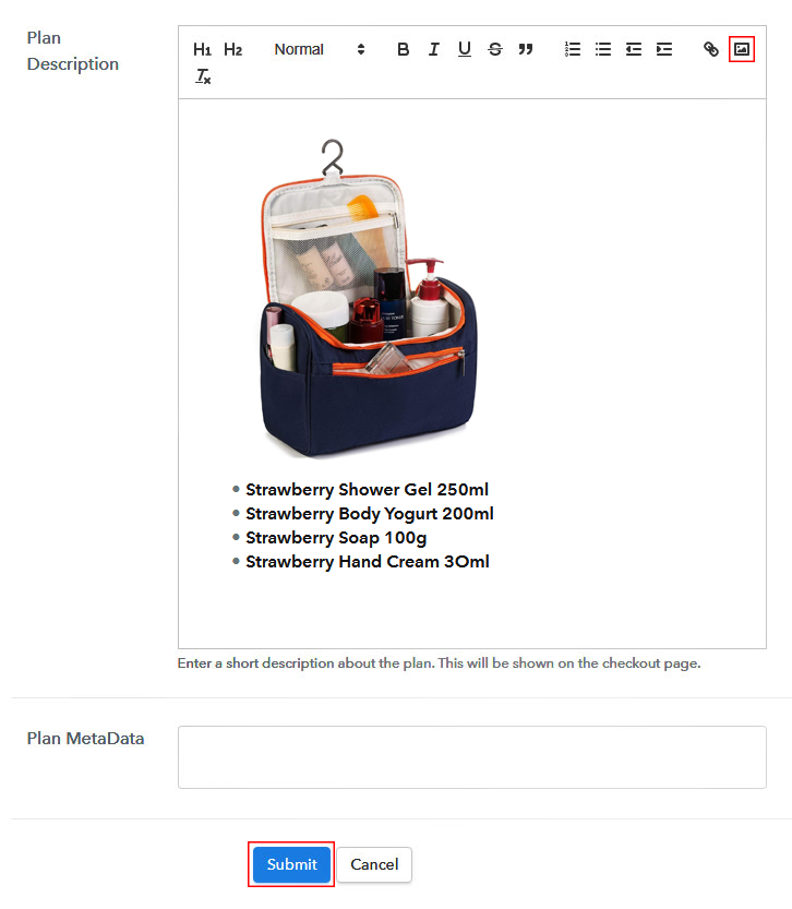 Sell Toiletry Set Online Image
