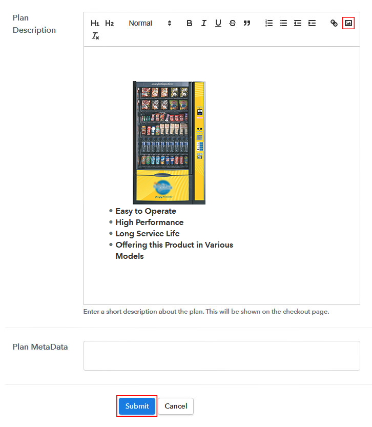 Sell Vending Machines Online Image
