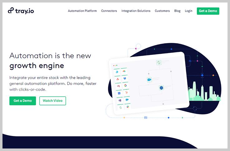 Tray.io - Integromat Competitor