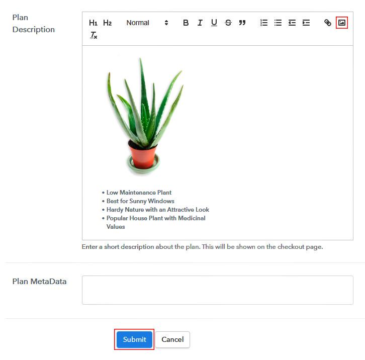 Add Image & Description to Sell Aloe Vera Plants Online