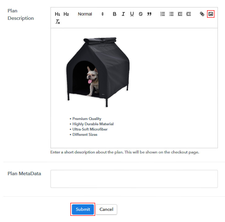 Add Image & Description to Sell Animal Shelters Online