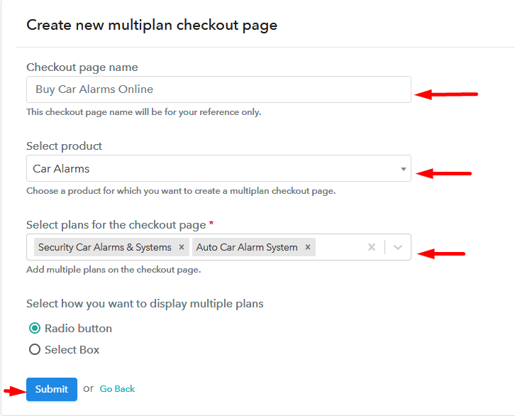 Add Multiple Products to Start Selling Car Alarms Online