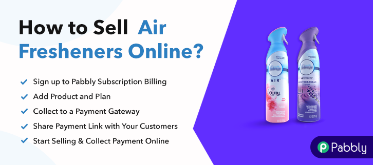 How to Sell Air Fresheners Online