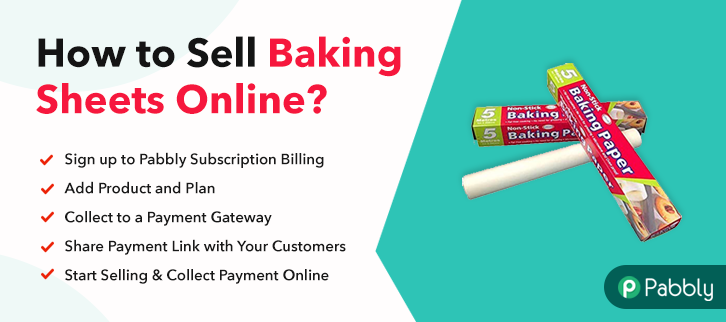 How to Sell Baking Sheets Online