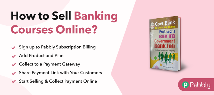 How to Sell Banking Courses Online