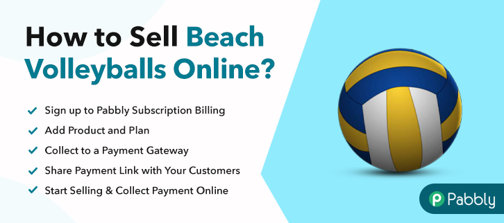 How to Sell Beach Volleyballs Online
