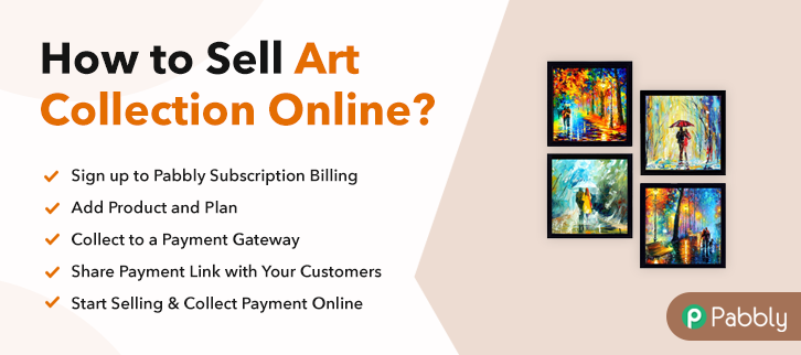 How to Sell Art Collection Online