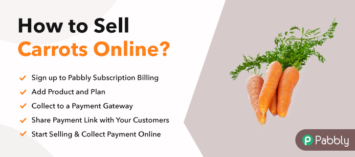 How to Sell Carrots Online