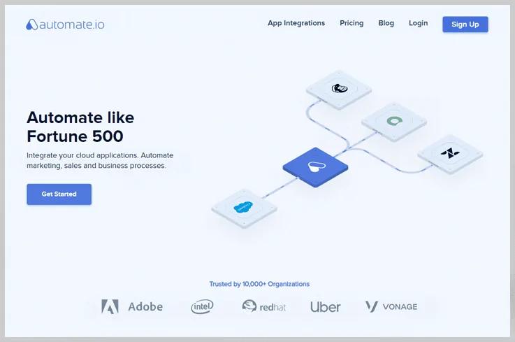 Automate.io - Integromat Alternative
