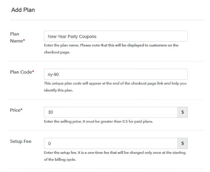 Add Plans To Sell Coupons Online