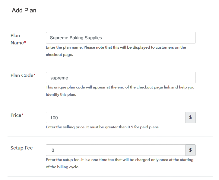 Add Plans to Sell Baking Supplies Online