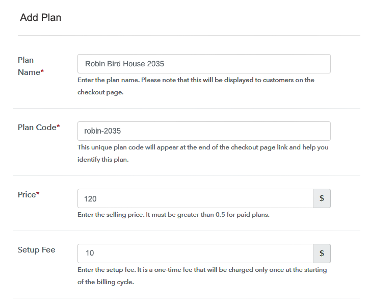 Add Plan To Sell Birdhouses Online