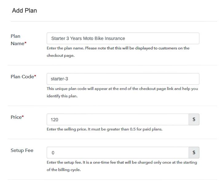 Add Plan to Sell Bike Insurance Online