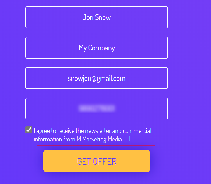 Fill the Form