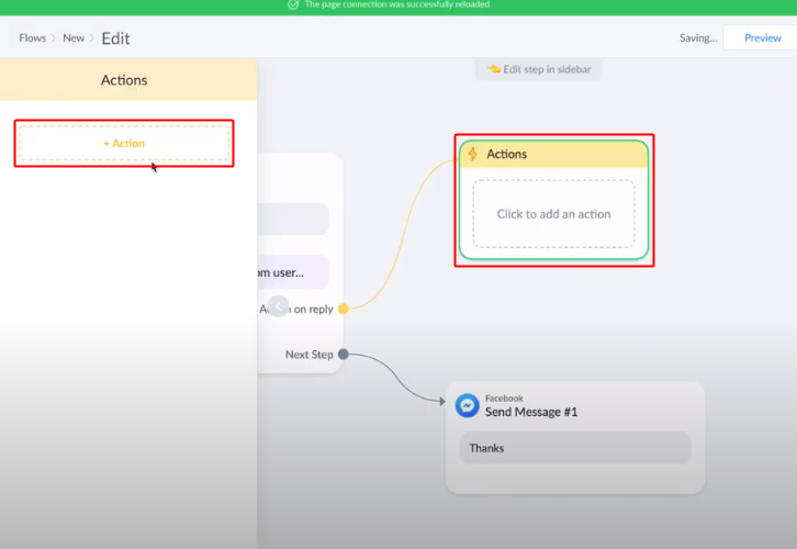 ManyChat Action Setting Integrate ManyChat with Slack