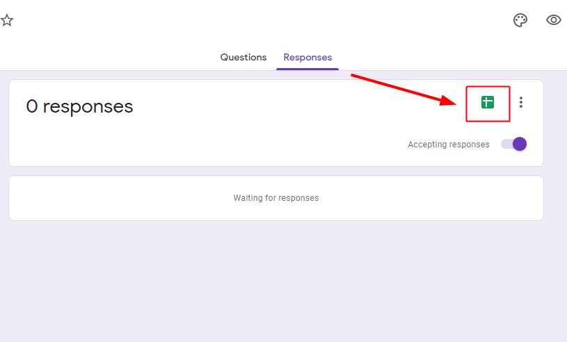 Capture Responses - Google Forms