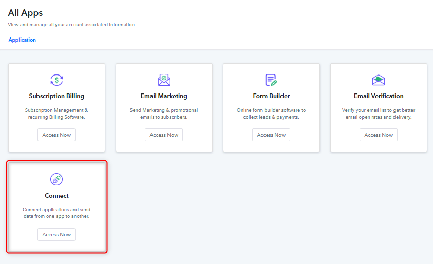 Access Pabbly Connect - Integrate Google Forms & Pabbly Email Marketing