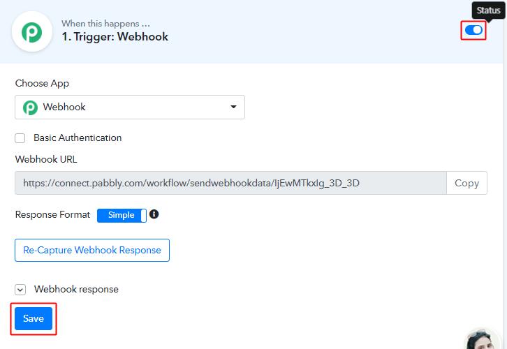 Save Workflow