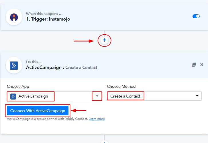 Setup Action ActiveCamapign
