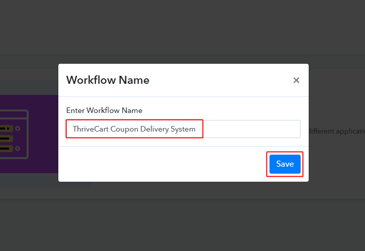 ThriveCart Coupon Delivery System
