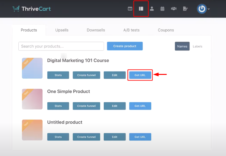ThriveCart Product