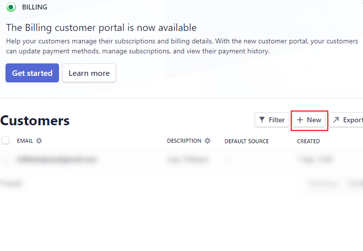 Click on Customers to Add New Stripe Customers to ActiveCampaign as Customer