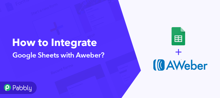 How to Integrate Google Sheet with Aweber