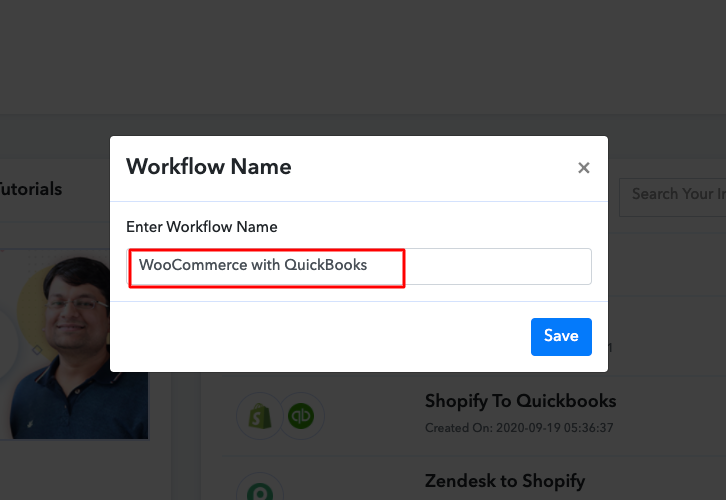 Name the Workflow