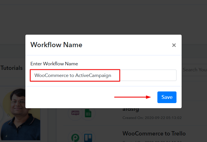 Name the Workflow to How to Add New WooCommerce Customers as ActiveCampaign Contacts
