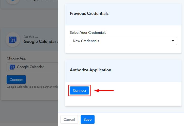 Authorize Google Account