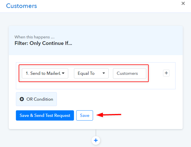 Apply Filters - integrate Google Sheets MailerLite Conditionally
