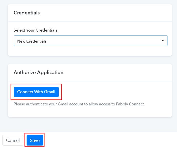 Allow Google Account Authorization