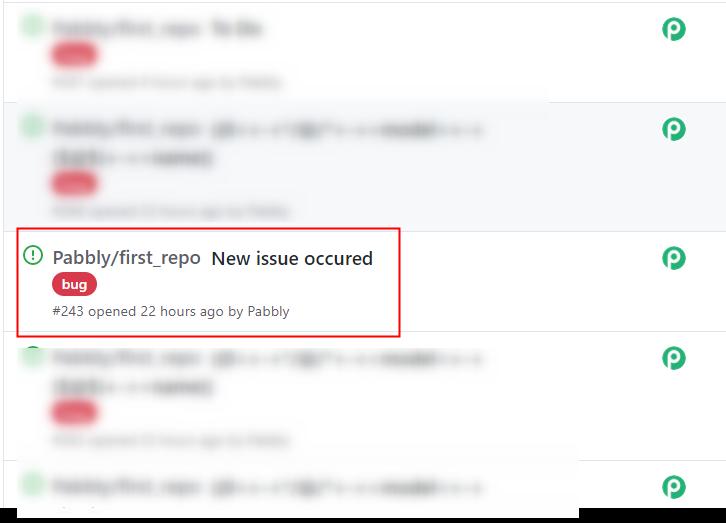 Check Response in GitHub Dashboard