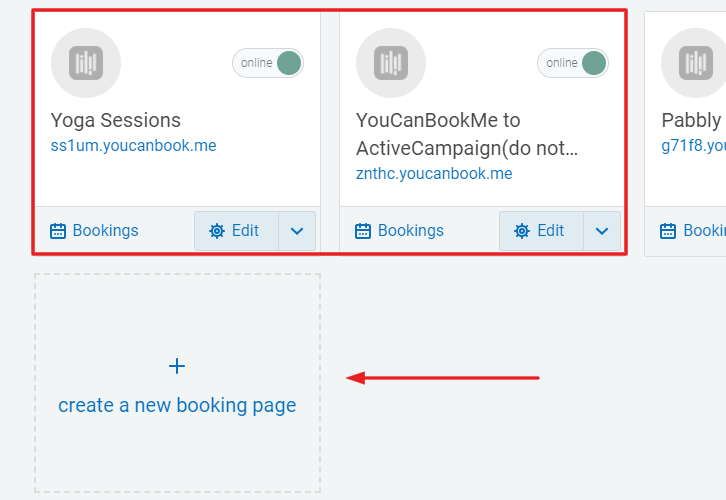 Create a New Booking