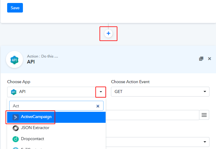 Integrate ActiveCampaign App