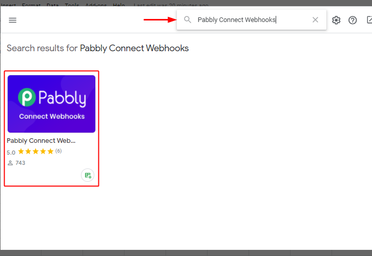Pabbly Connect Webhook