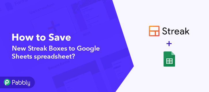 Save New Streak Boxes to Google Sheets