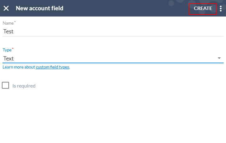 Assign Name to Customized Field
