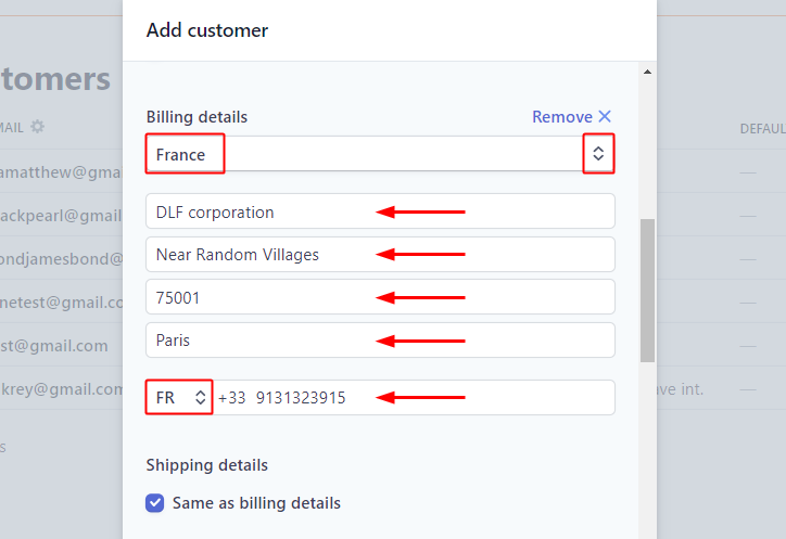 Add Billing Details for Stripe to Autopilot